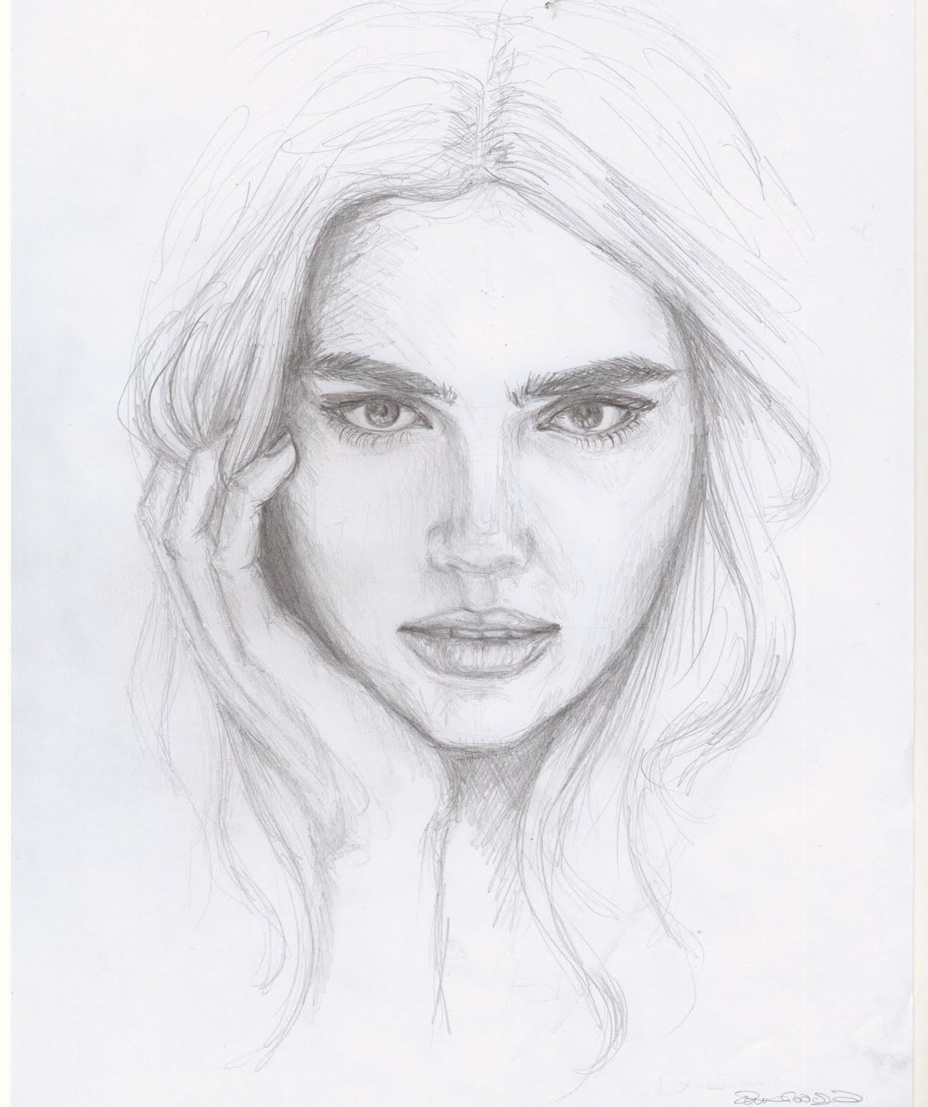 Human Face Sketch National Art Society